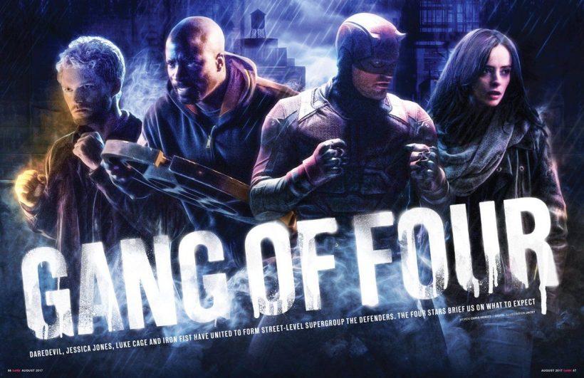 Nieuwe Marvel's The Defenders poster