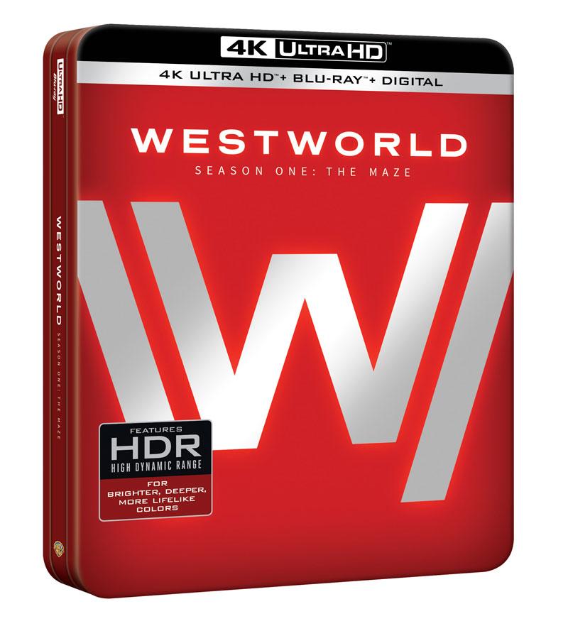 Westworld seizoen 1 Blu-ray details en trailer
