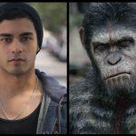Menselijke hoofdrolspeler in War of the Planet of the Apes