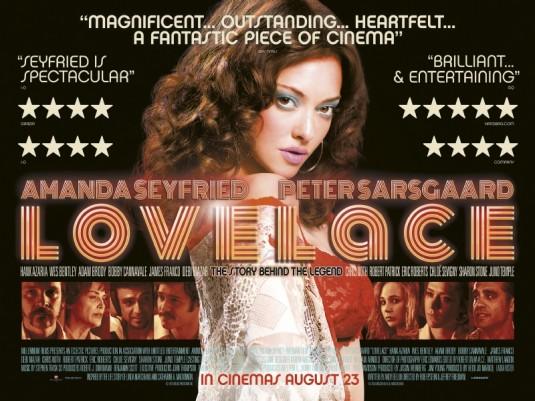 Trailer en poster voor Lovelace met Amanda Seyfried