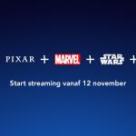 Disney+ vanaf 12 november in Nederland!