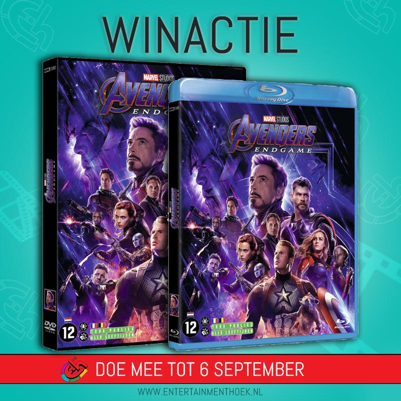 Avengers: Endgame DVD & Blu ray