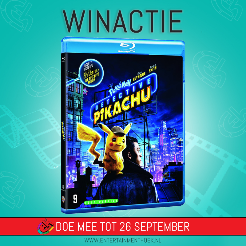 Pokémon Detective Pikachu! Blu ray