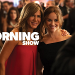 Steve Carell, Jennifer Aniston & Reese Witherspoon in trailer voor The Morning Show