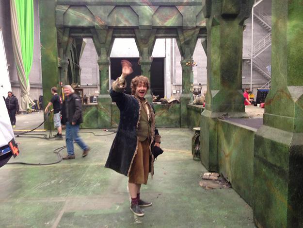 Martin Freeman is klaar met opnames The Hobbit