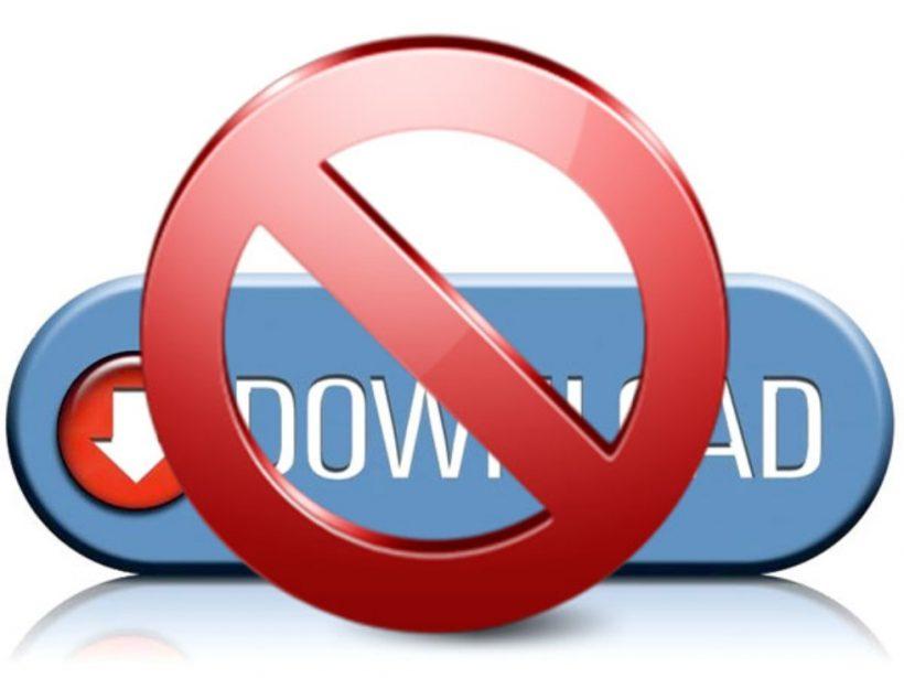 Downloadverbod