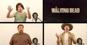 A-cappela versie van The Walking Dead theme
