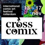 Comics, kunst en comedy op Cross Comix | 13-17 november