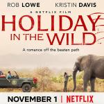 Kristin Davis en Rob Lowe in trailer voor Holiday in the Wild