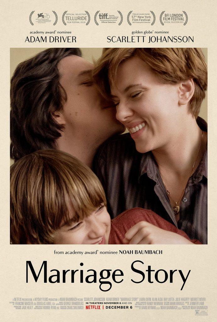 Marriage Story met Scarlett Johansson & Adam Driver