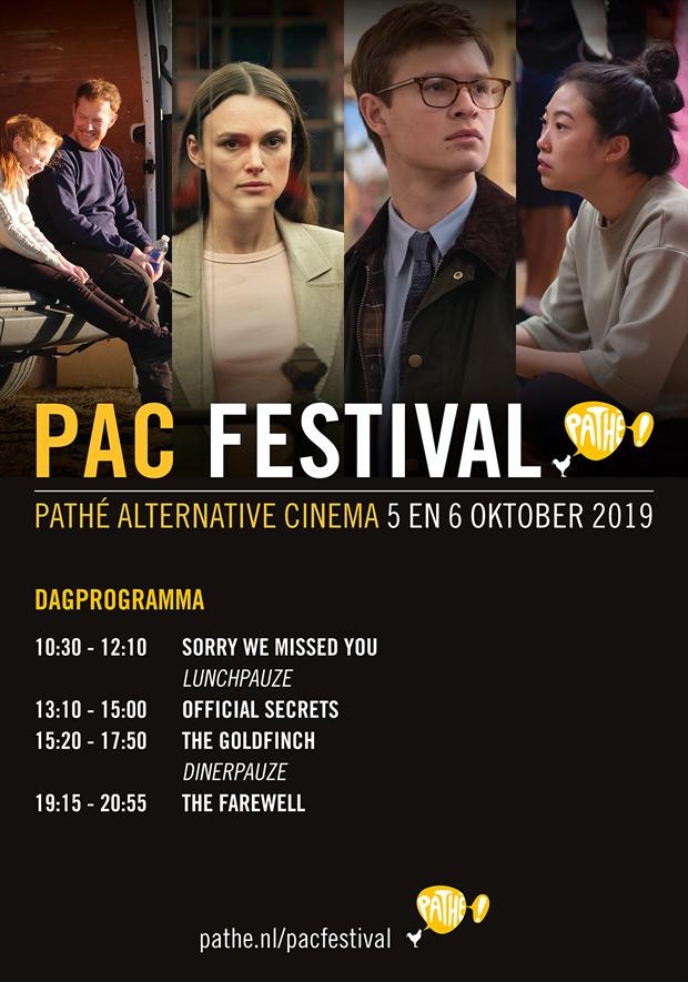 PAC Festival najaar 2019 (Felicia Peerenboom)