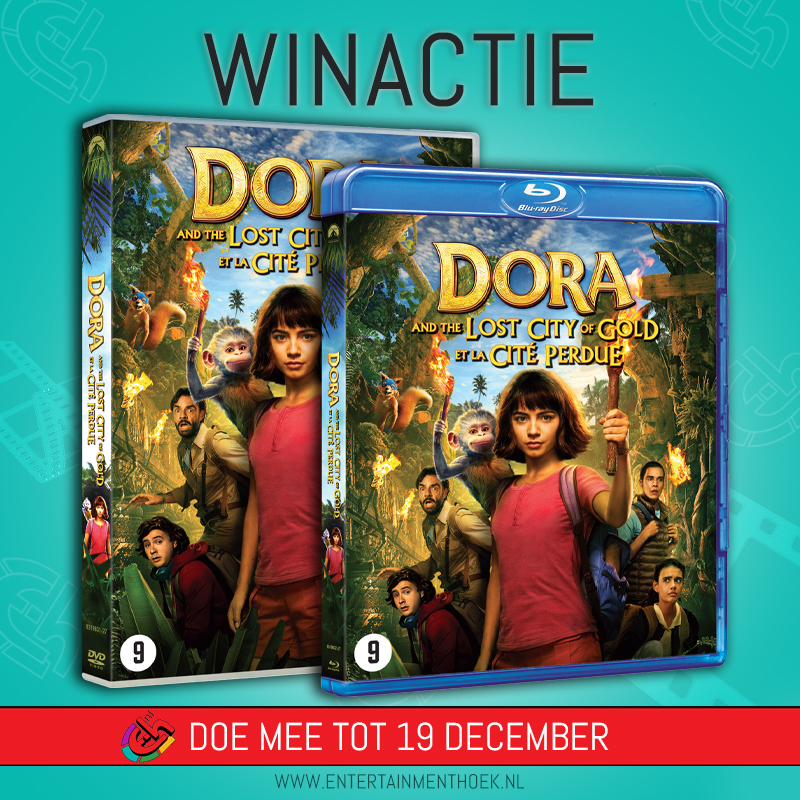 Dora and the Lost City of Gold DVD en Blu-ray
