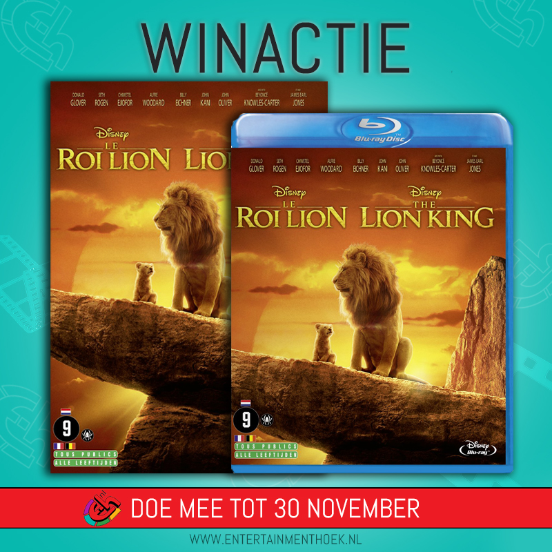 The Lion King DVD en Blu-ray
