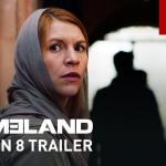Nieuwe trailer voor Showtime's Homeland seizoen 8