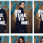 Personage posters voor James Bond-film No Time To Die