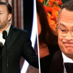 Ricky Gervais roast Hollywood tijdens Golden Globe Awards 2020
