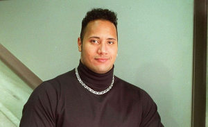 Young Rock over Dwayne Johnson