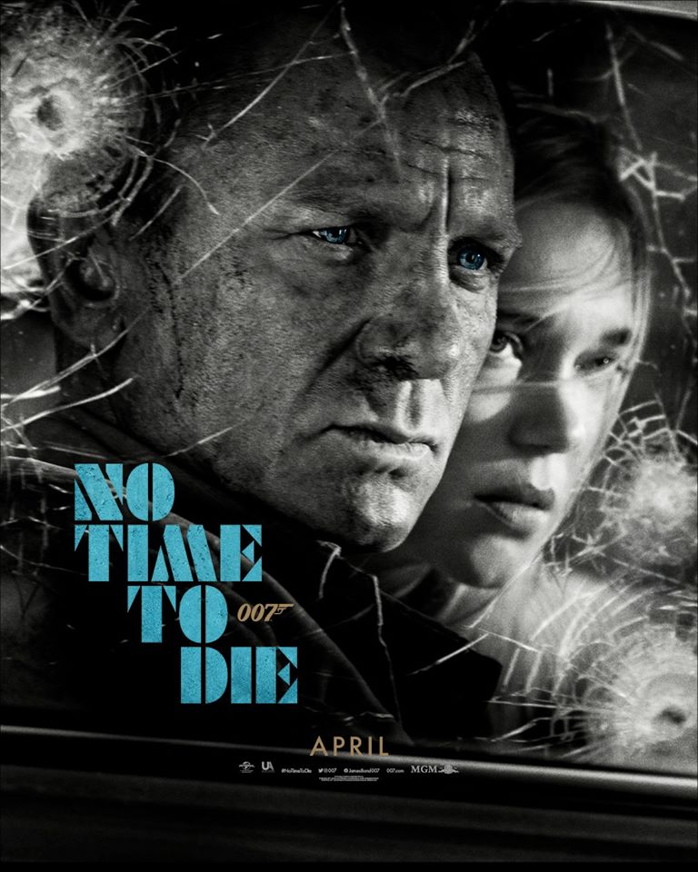 No Time To Die uitgesteld tot november 2020