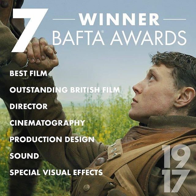 BAFTA Awards 2020 | Winnaars