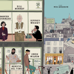 Poster voor Wes Anderson's The French Dispatch