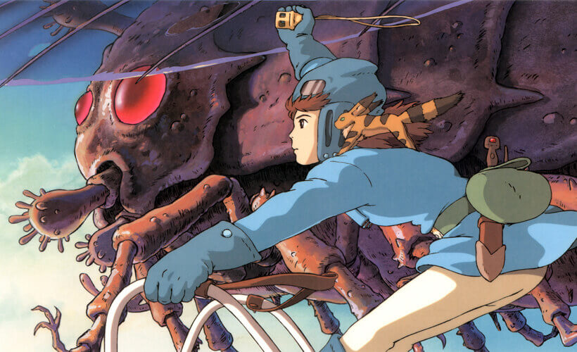 12 Top 22 Studio Ghibli films - Nausicaä of the valley of the wind
