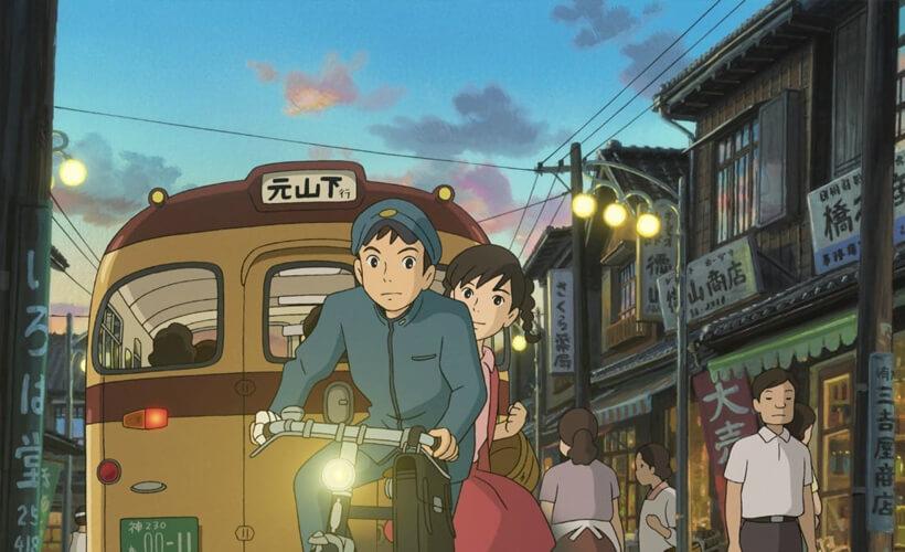 Top 22 Studio Ghibli films - deel 1 (Sandro Algra) - From up on Poppy Hill
