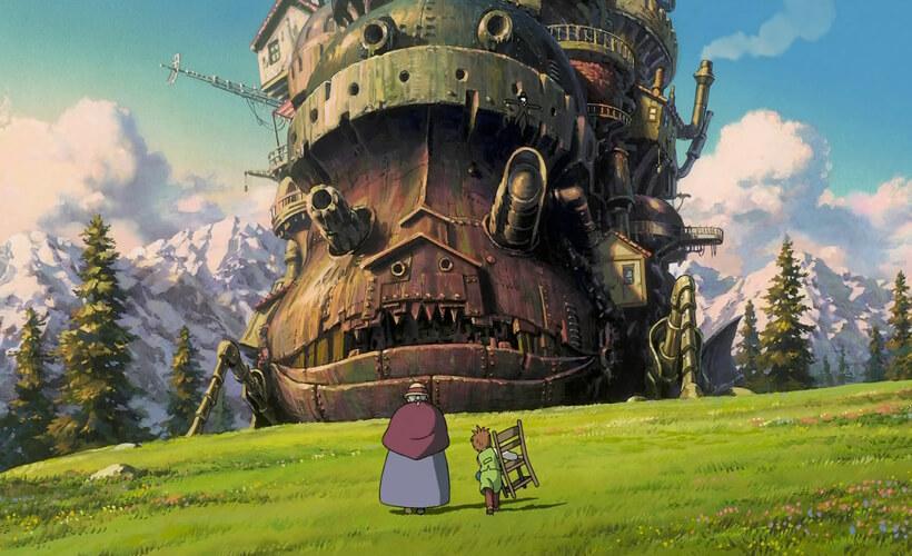 Top 22 Studio Ghibli films - deel 1 (Sandro Algra) - Howl's Moving Castle