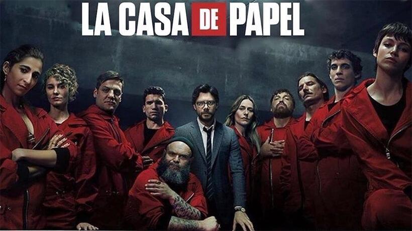 Spaanse series - La Casa de Papel