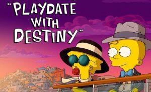 Playdate With Destiny van The Simpsons