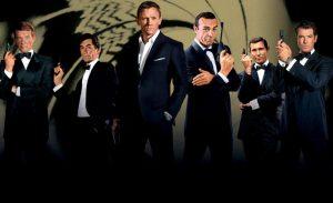 James Bond acteurs