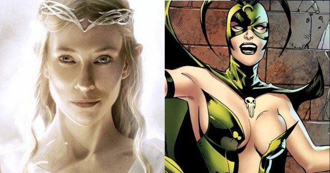 Cate Blanchett als Hela in Thor: Ragnarok