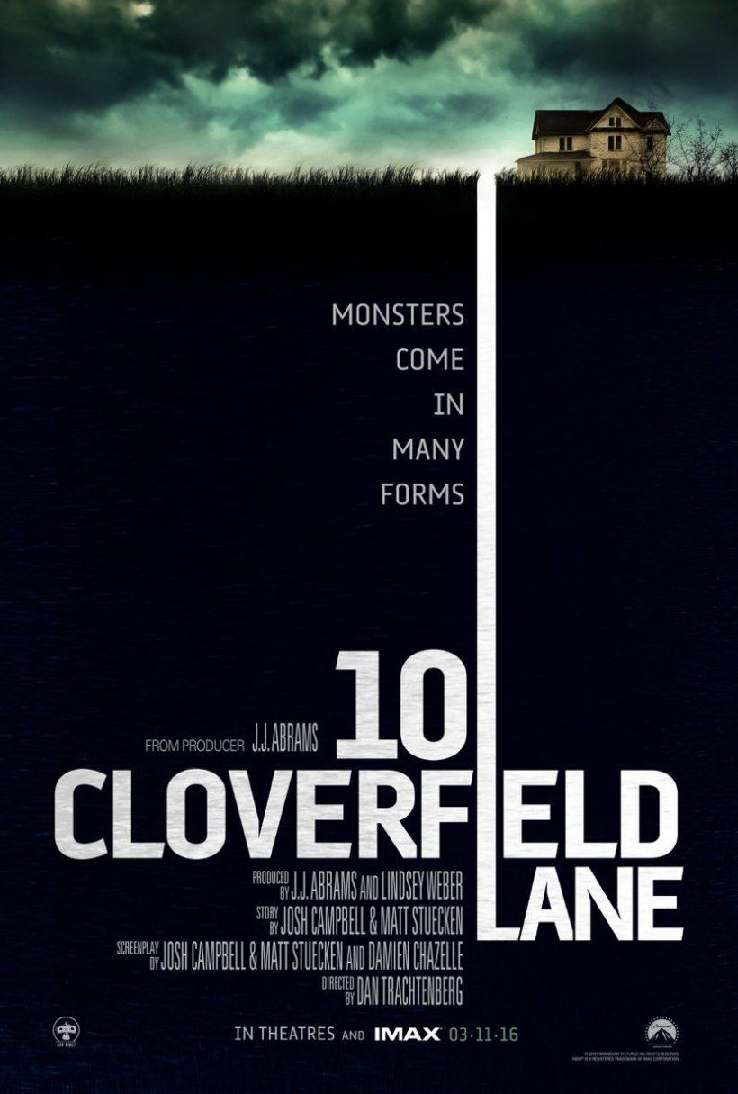 Eerste poster 10 Cloverfield Lane