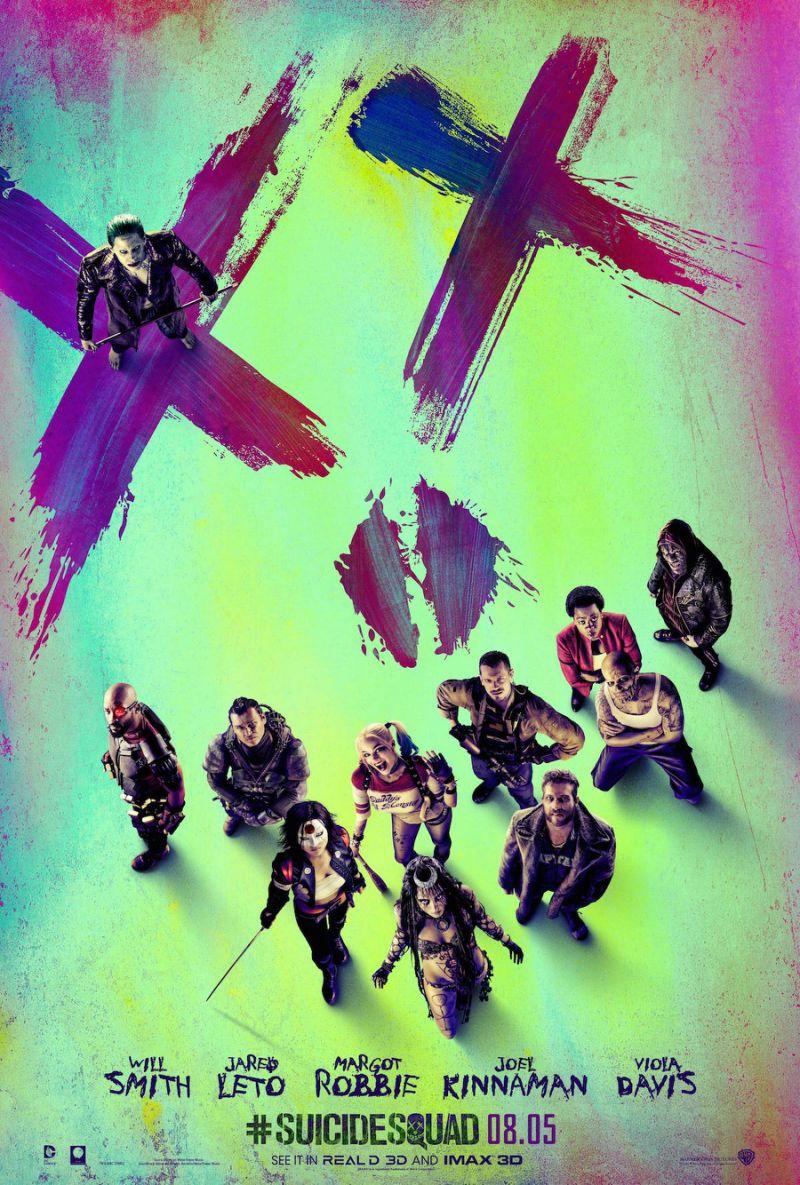 Nieuwe poster van Suicide Squad