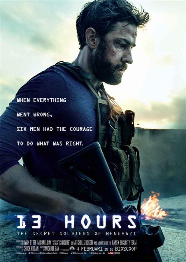Nieuwe trailer Michael Bay's 13 Hours: The Secret Soldiers of Benghazi