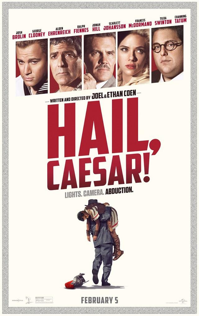 Nieuwe trailer voor Hail, Caesar!