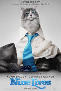 Nine Lives trailer en poster met Kevin Spacey