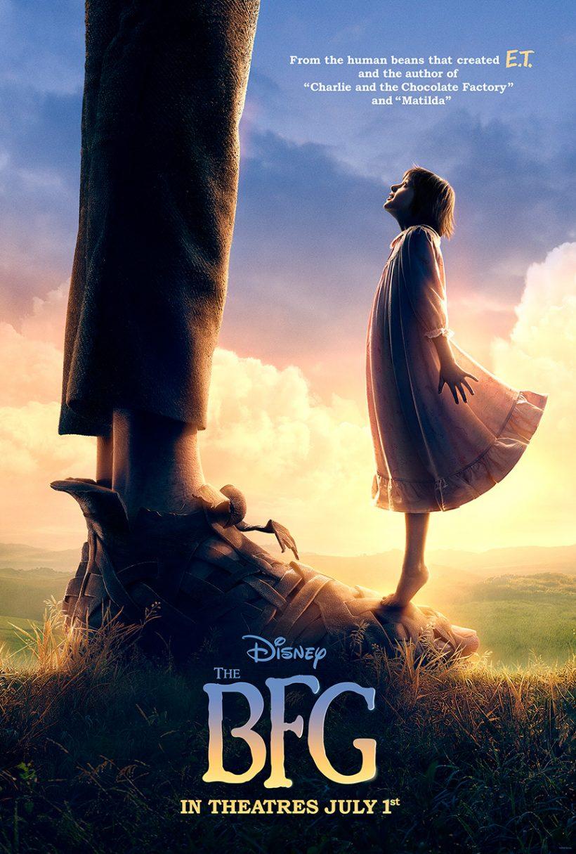 Poster voor Steven Spielberg's The BFG