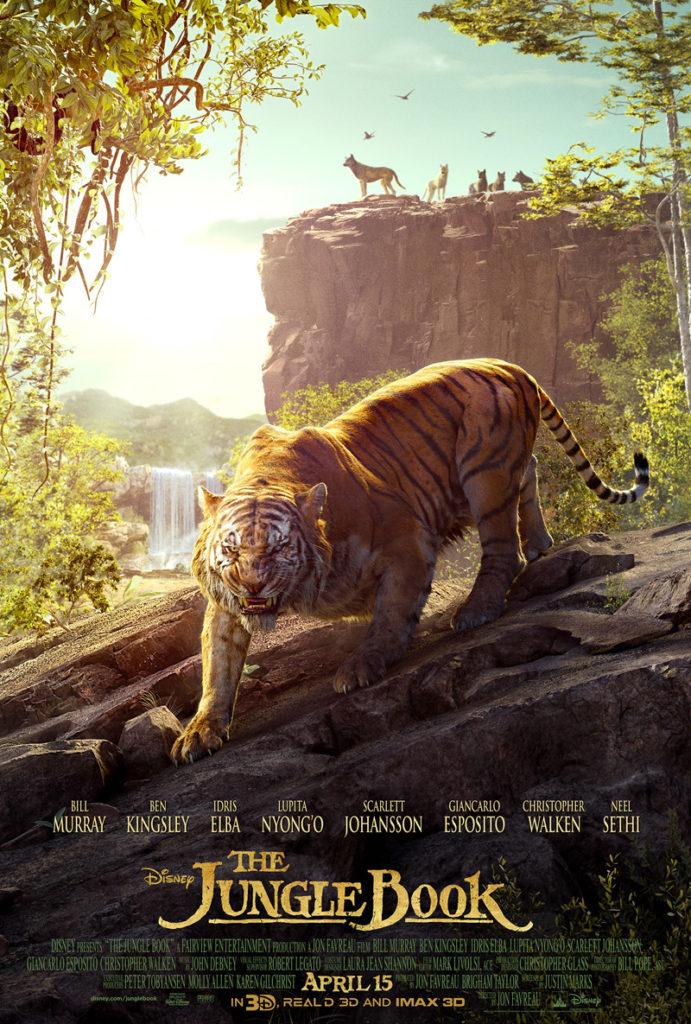 Tweede deel nieuwe Jungle Book poster