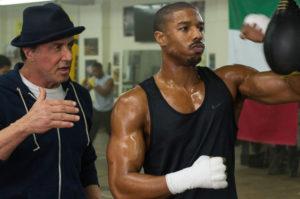 Creed Sylvester Stallone, Michael B Jordan