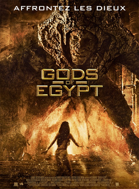 Nieuwe posters Gods of Egypt