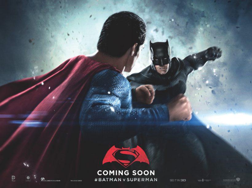 Nieuwe posters van Batman v Superman