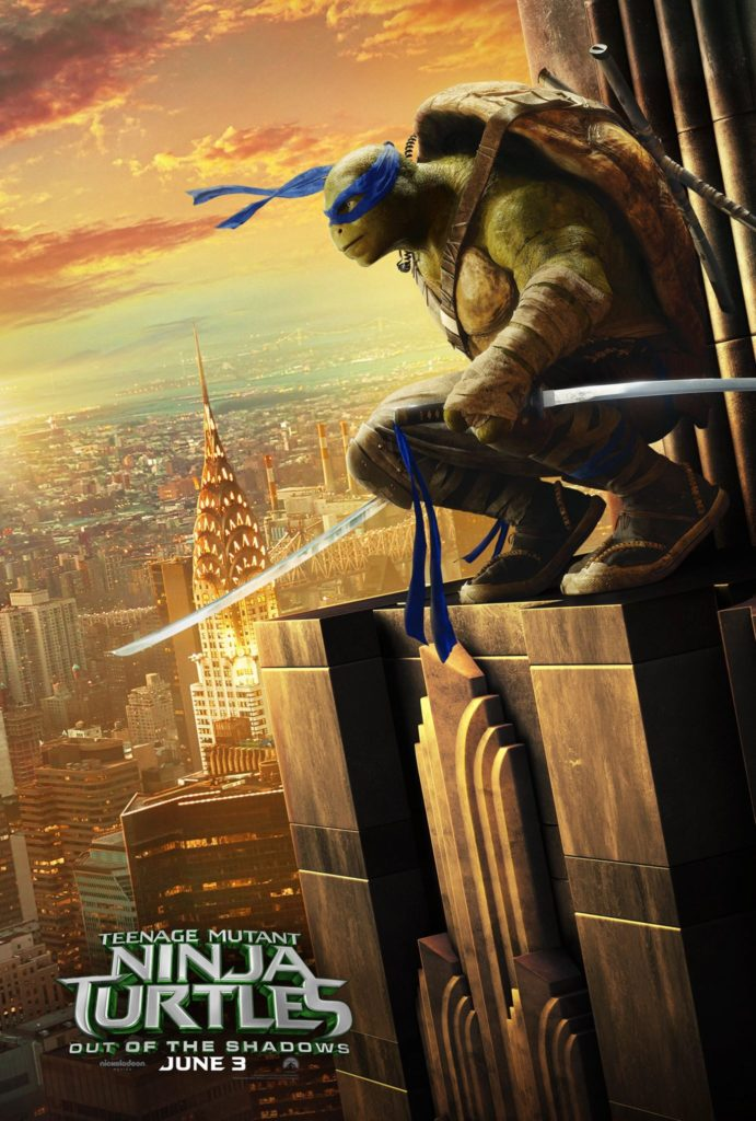 Teenage Mutant Ninja Turtles Out of the Shadows posters