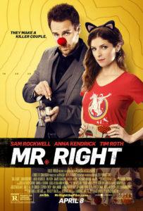 Trailer Mr. Right met Sam Rockwell en Anna Kendrick