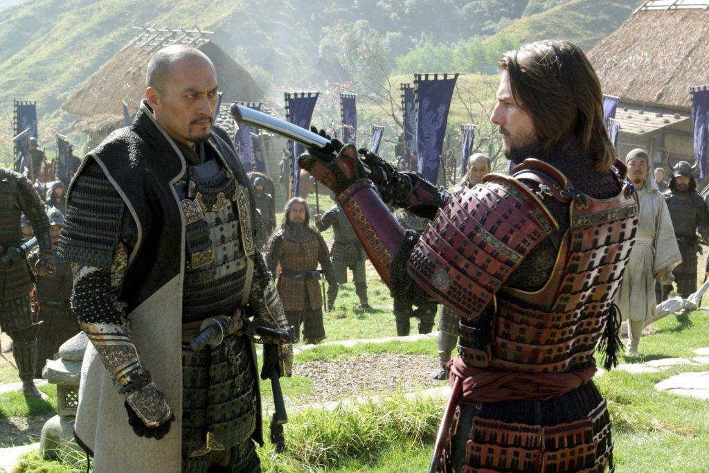 Ken Watanabe en Tom Cruise in The Last Samurai (2003)