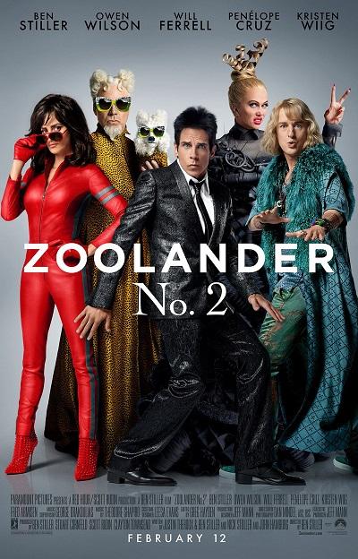 Nieuwe trailer Zoolander 2