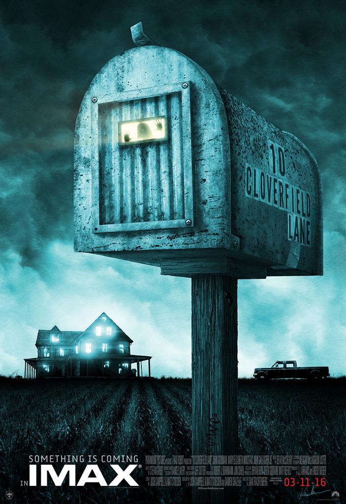Enge 10 Cloverfield Lane IMAX poster