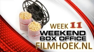 Box office NL - Week 11: De Rokjes omhoog