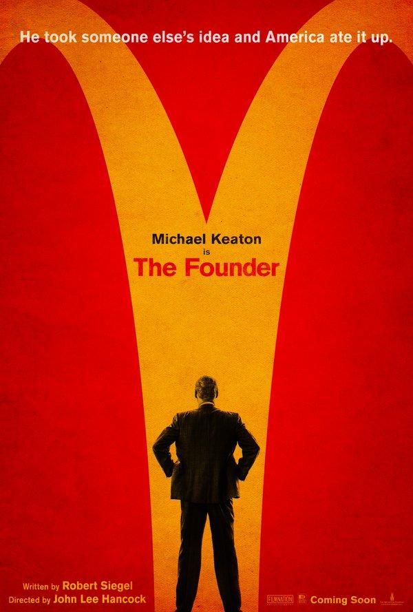 Eerste poster McDonald's-biopic The Founder