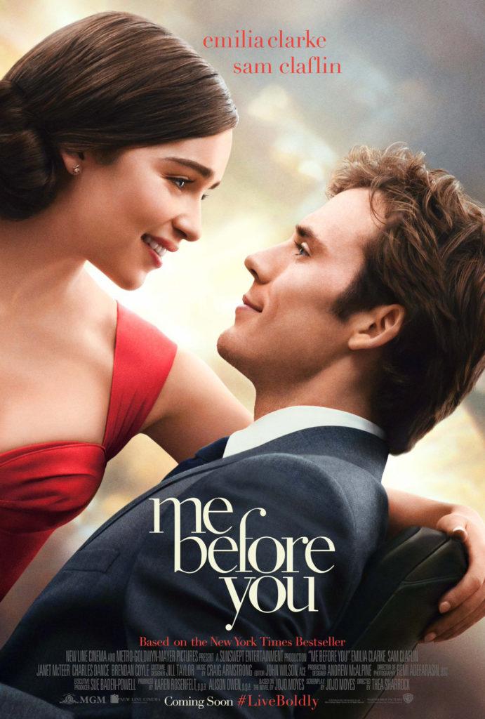 Eerste trailer Me Before You met Emilia Clarke en Sam Claflin