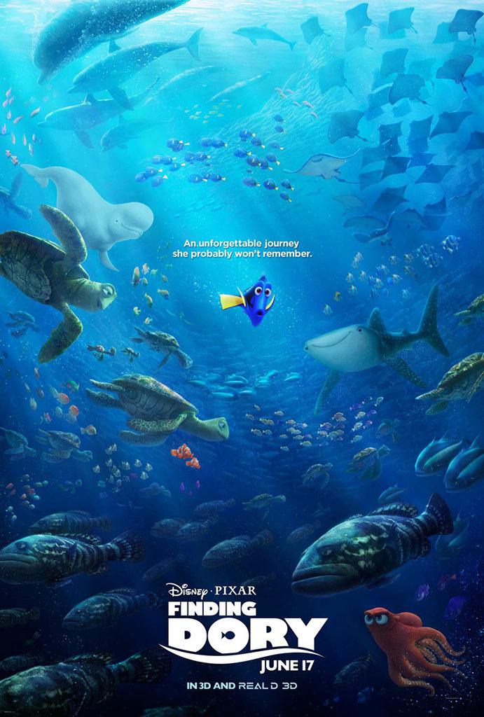 Nieuwe poster voor Finding Dory